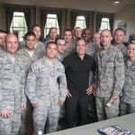 Hanging with Airmen