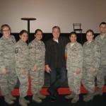 4 Lt Peat and VA team SAPR staff