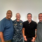 NS San Diego Miles, (Safety Mgr) Jason (chaplain) Jim queen ADCO