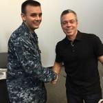 NS San Diego handshake