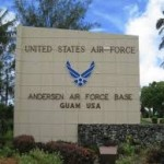 Anderson AFB Guam entrance
