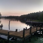 JAX view of lake Clarks Fish Camp
