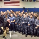 NNPTC Chief Martin & Sailors