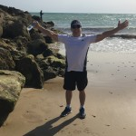 Rota B on beach