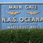 NAS Oceana gate