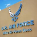 Altus AFB entrance