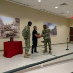 Ft Benning- plaque ceremony